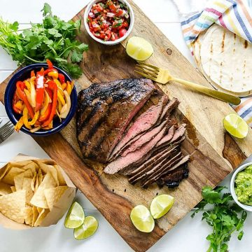 easy recipe steak fajitas
