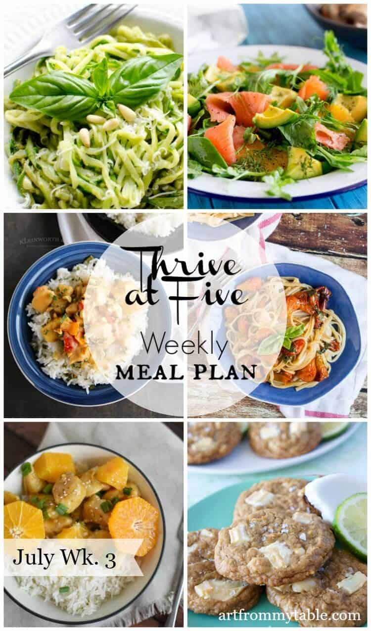 meal plan july week 3