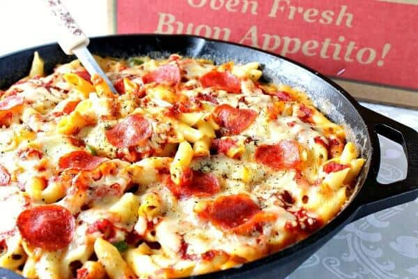 pepperoni pizza mac and cheese meal plan week 2