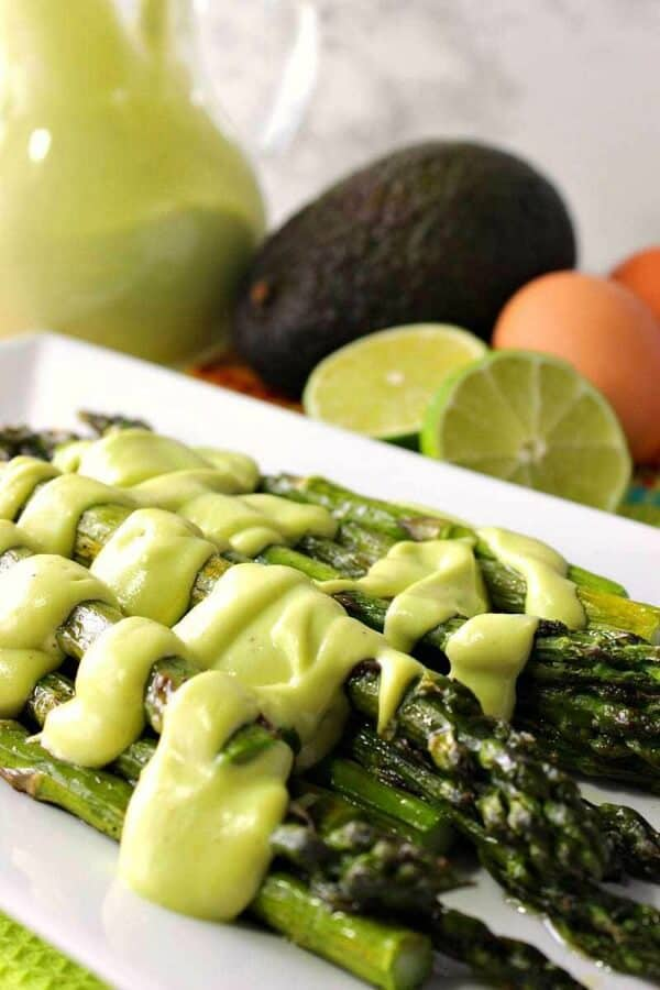 roasted asparagus meal plan side dish