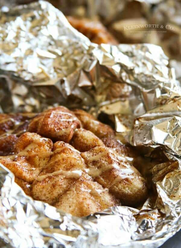 campfire cappuccino monkey bread- meal plan extra