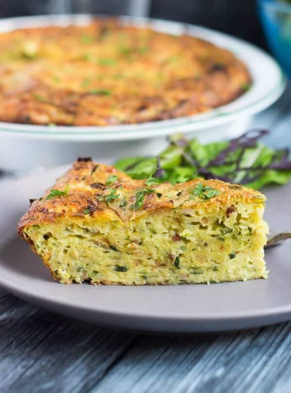 crustless zucchini quiche easy meal plan