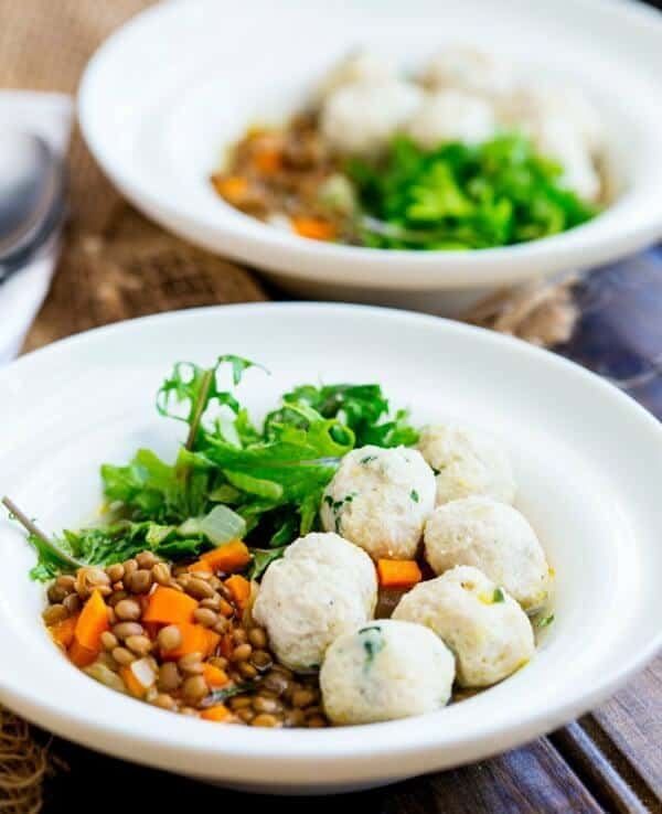 lentil bowls with chicken meatballs quick easy meal