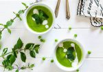 recipe pea mint soup