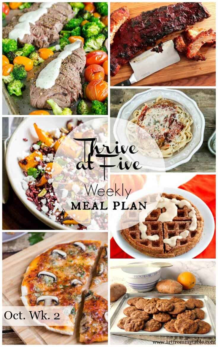meal plan October week 2 |meal planning | easy weeknight meals | easy dinners #easydinners #mealplan