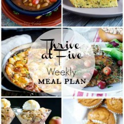 Stop surviving and start thriving through the dinnertime dilemma. Here's your weekly meal plan November week 1