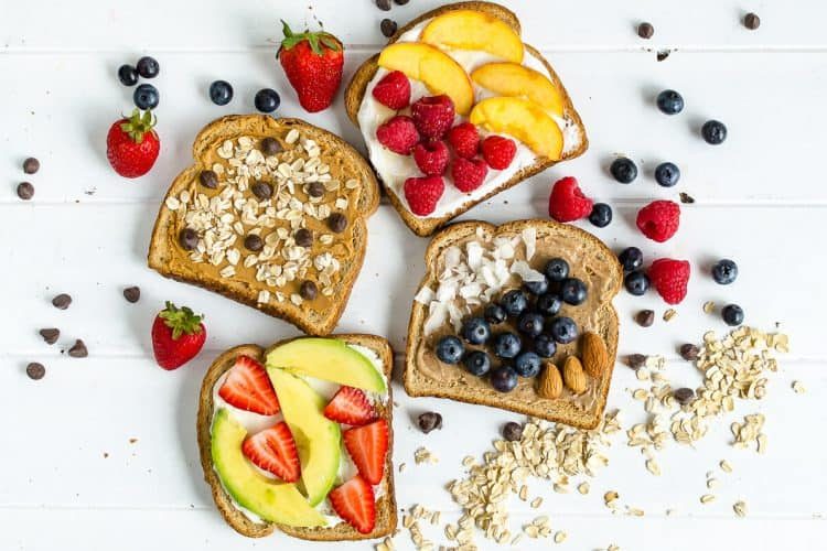 4 Toast Toppers to Brighten Your Morning