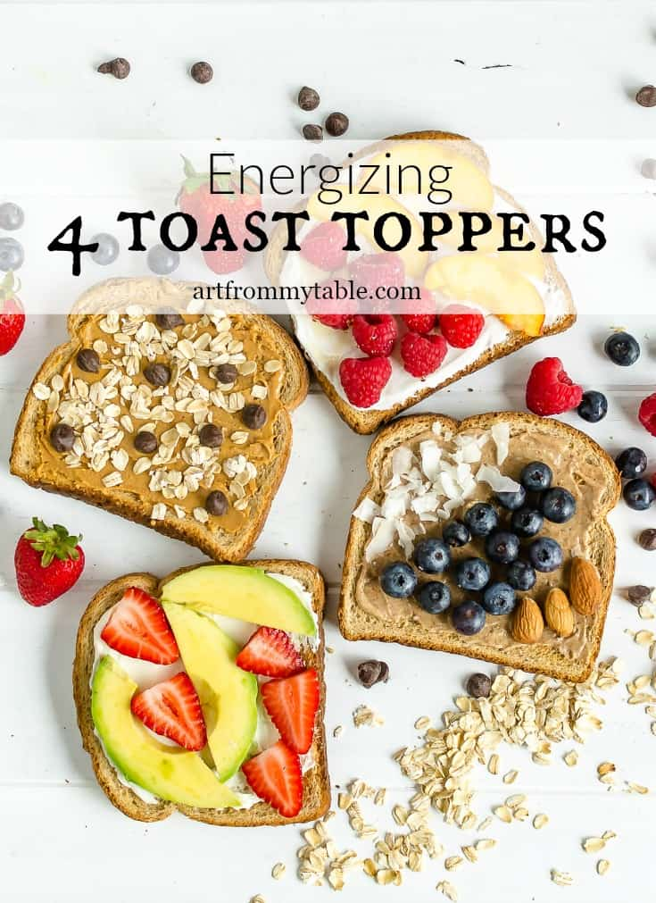 Get a healthy and tasty start to your morning with these energy boosting breakfast toast ideas. They'll leave you feeling satisfied and energized. #toastforall #breakfast #summer #freshberries #toast via @artfrommytable