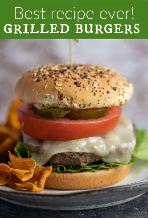 A perfect grilled burger is juicy, flavorful, smoky, and perfectly browned. This recipe has all that, plus of course, your special touch at the grill. via @artfrommytable